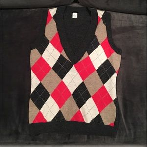 J.crew Cashmere and Wool Vest